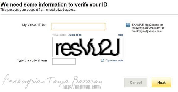 Cara nak dapatkan balik password wechat
