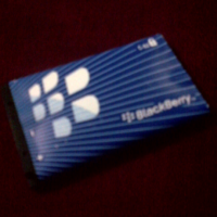 Jimat bateri blackberry
