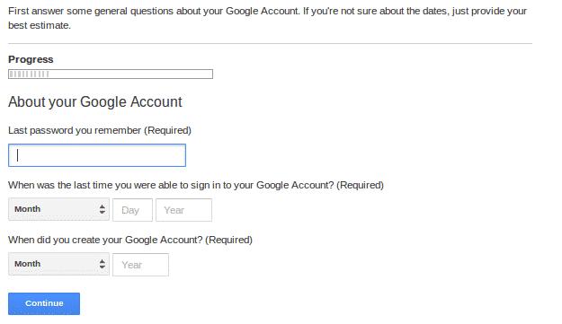 Password help last password