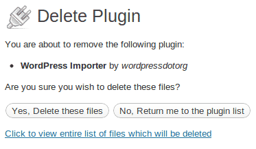 Wordpress plugin tanpa delete data