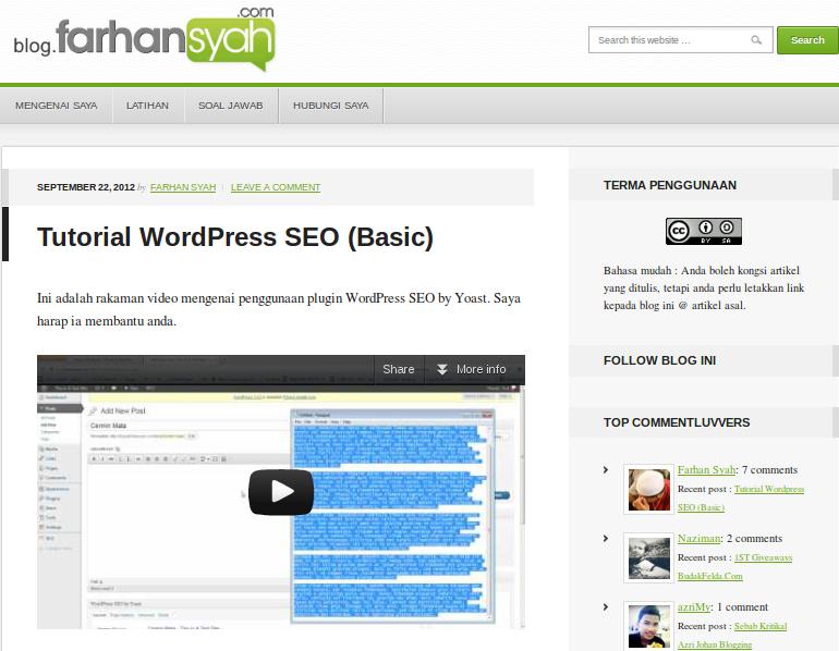 SEO blog? Blogger tolong jangan belajar SEO