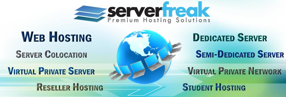 Rumah baru Rupa baru, Hosting ServerFreak Tema Smally